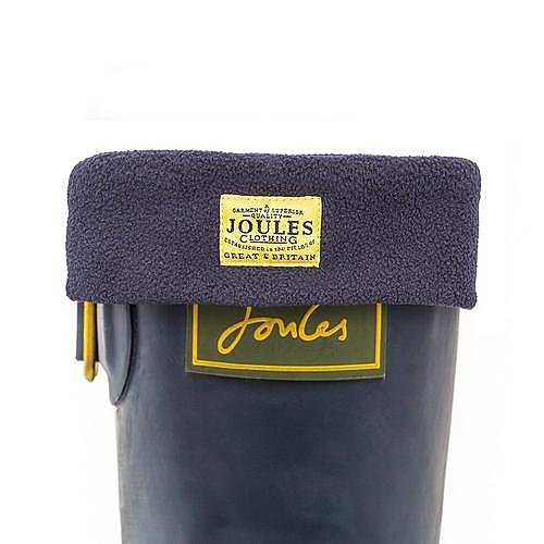 Joules Women's Welton Fleece Welly Socks - Marine Blue