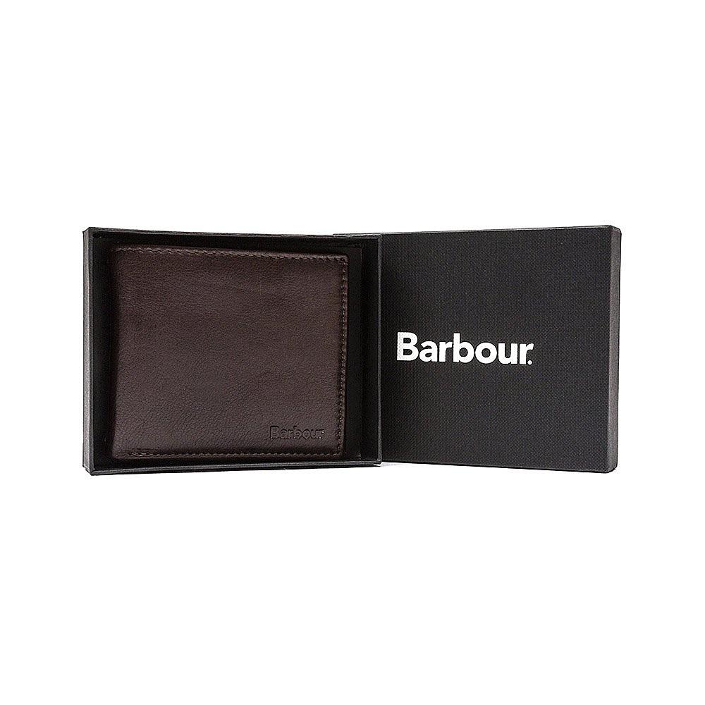 Barbour Mens Standard Wallet - Brown