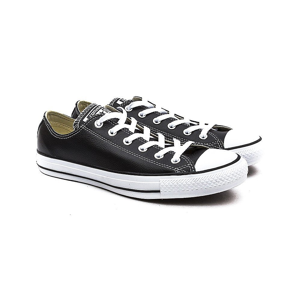 Converse Womens Chuck Taylor All Star Ox - Black/White Leather