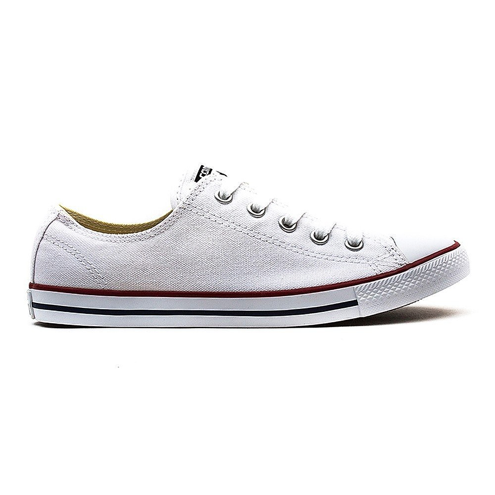 Converse Converse Women's Chuck Taylor All Star Dainty OX Canvas Trainers - White