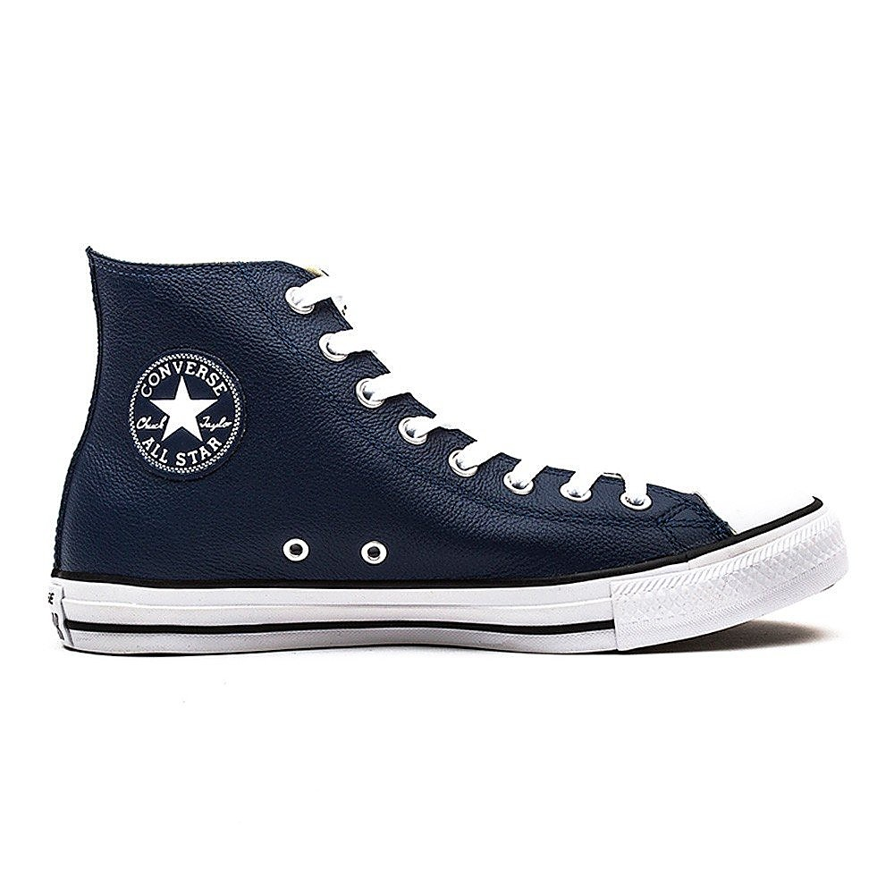 Converse Mens All Star High Trainers - Nighttime Navy Leather