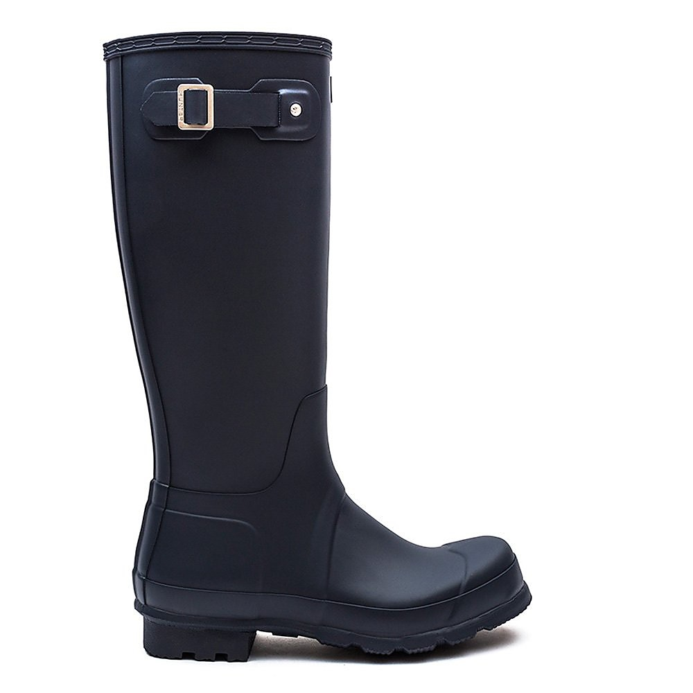 Hunter Wellies Mens Original Tall - Navy