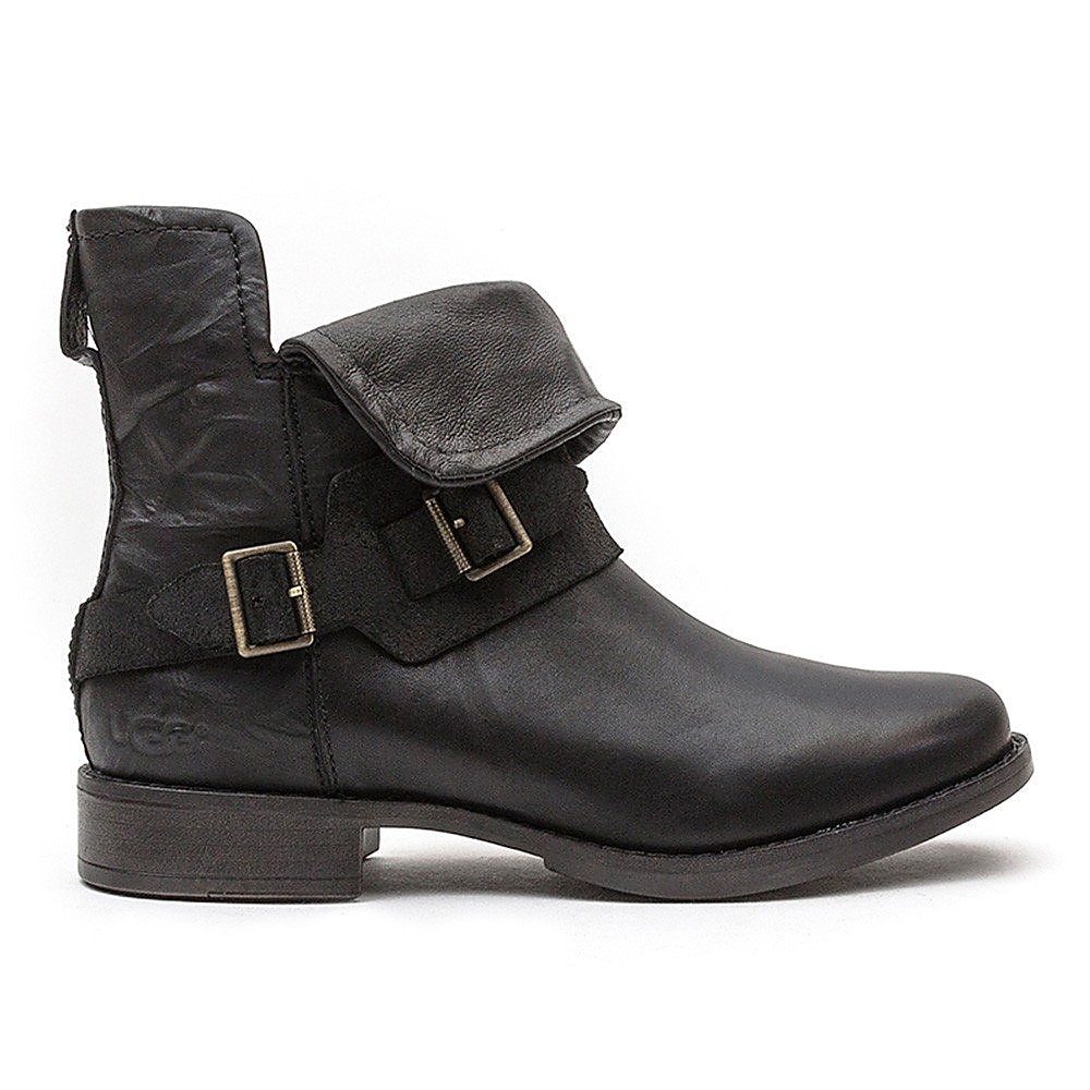 Ugg Womens Cybele - Black Leather