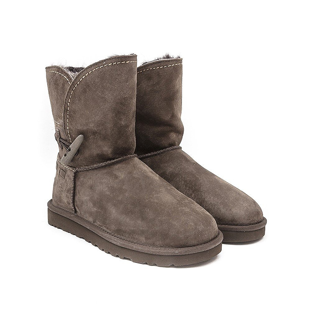 Ugg Women's Australia Meadow Suede Ankle Boots - Chocolate