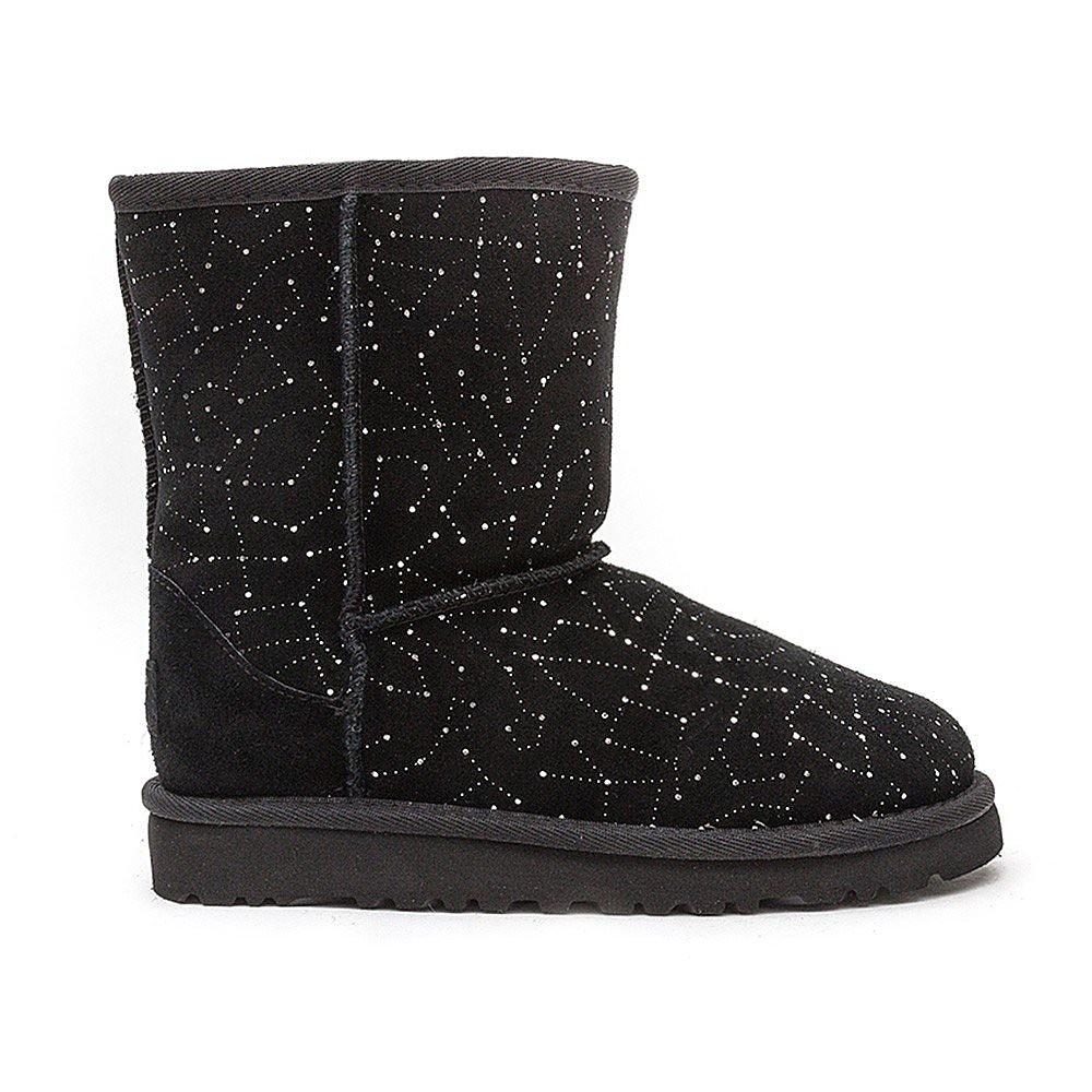 Ugg Junior Classic Short Constellation - Black