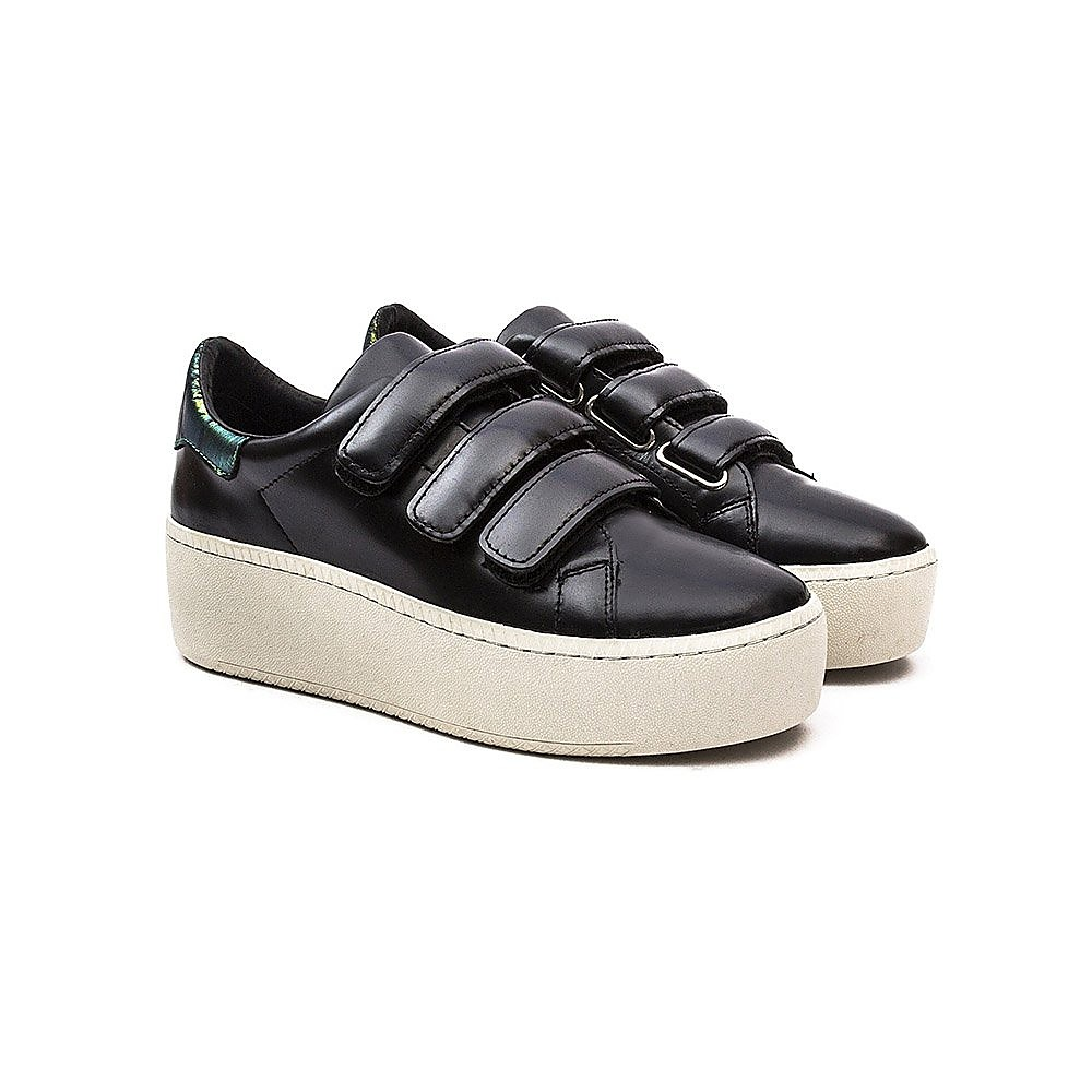 Ash Cool Womens Trainers - Black Croco