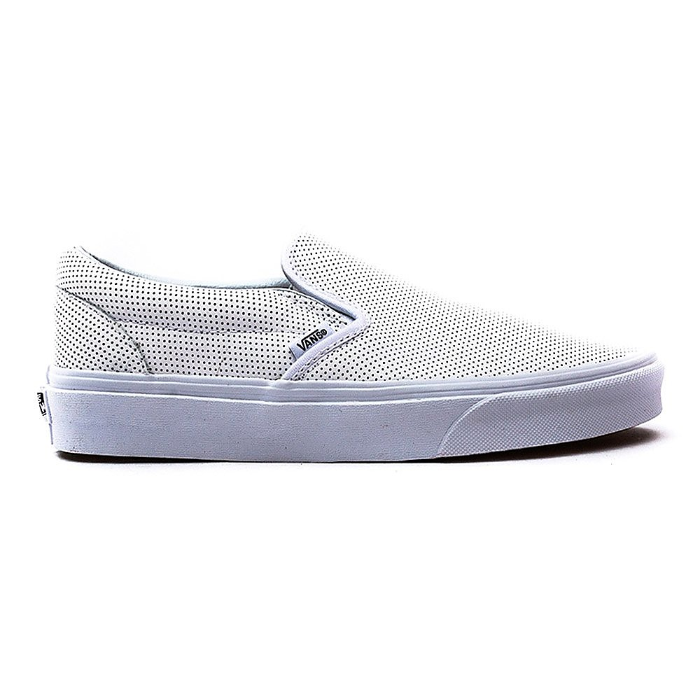 Vans Classic Slip-On White Perforated