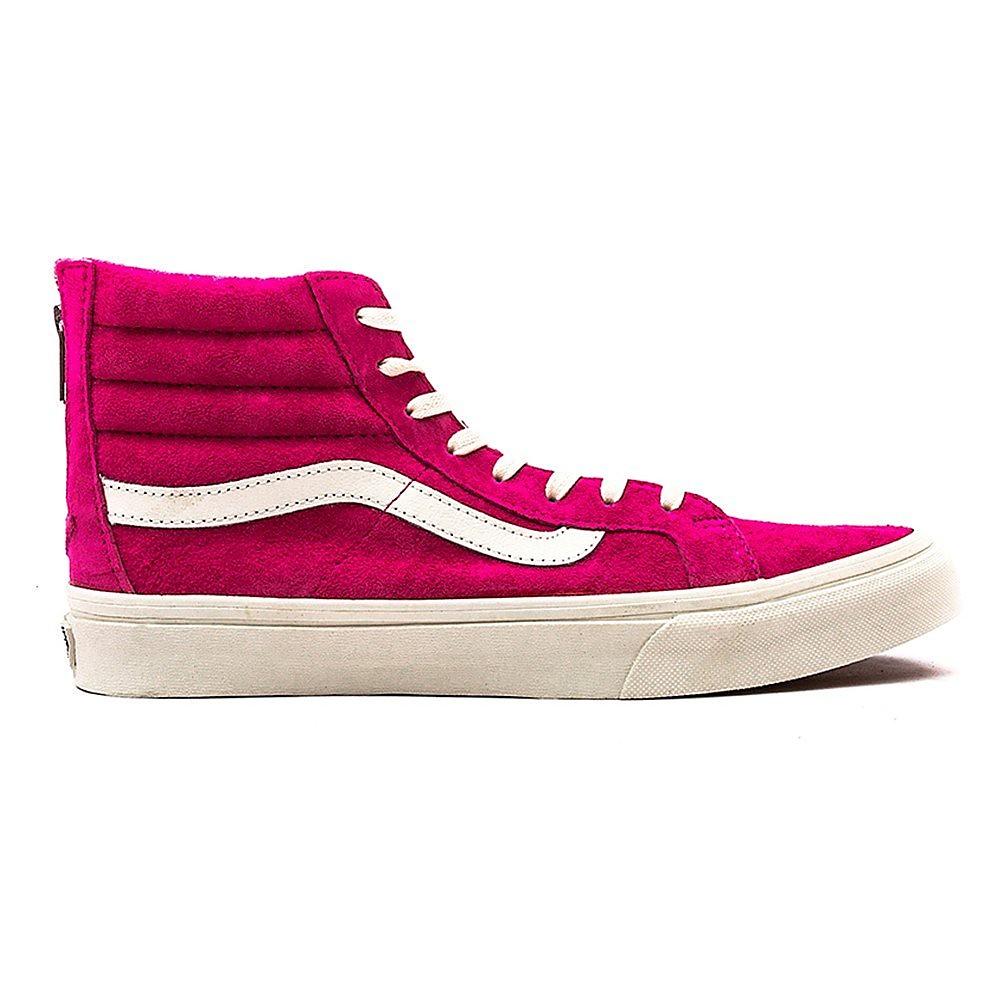 Vans Women's SK8-Hi Slim Zip Scotchgard - Pink