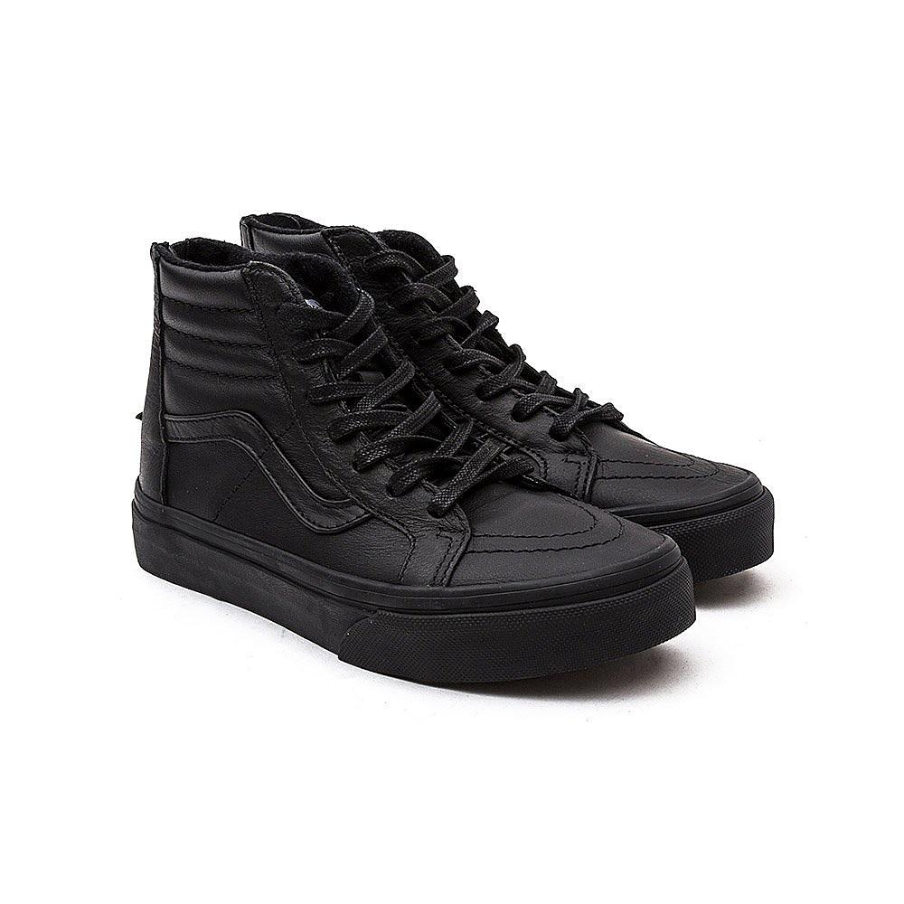 Vans SK8-Hi Zip Kids Black