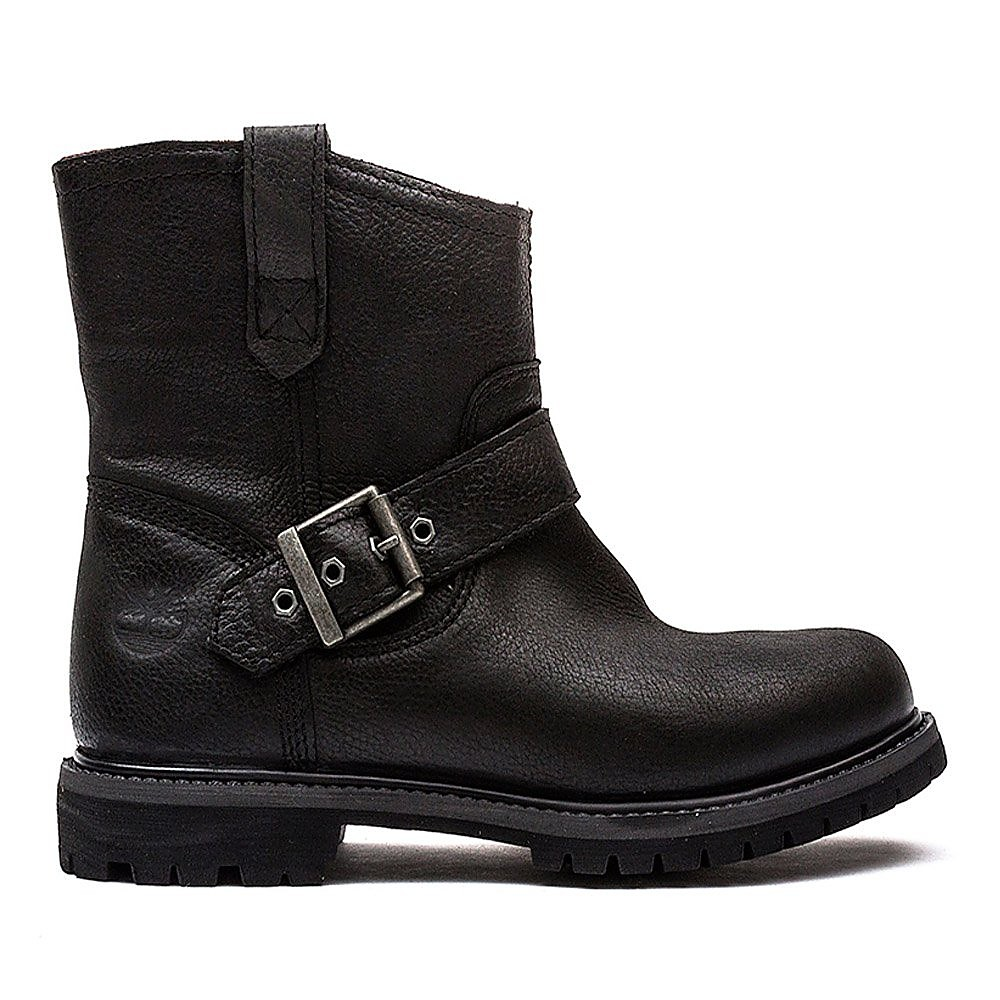 Timberland Womens 6 Inch Premium Pull on Boot - Black Leather