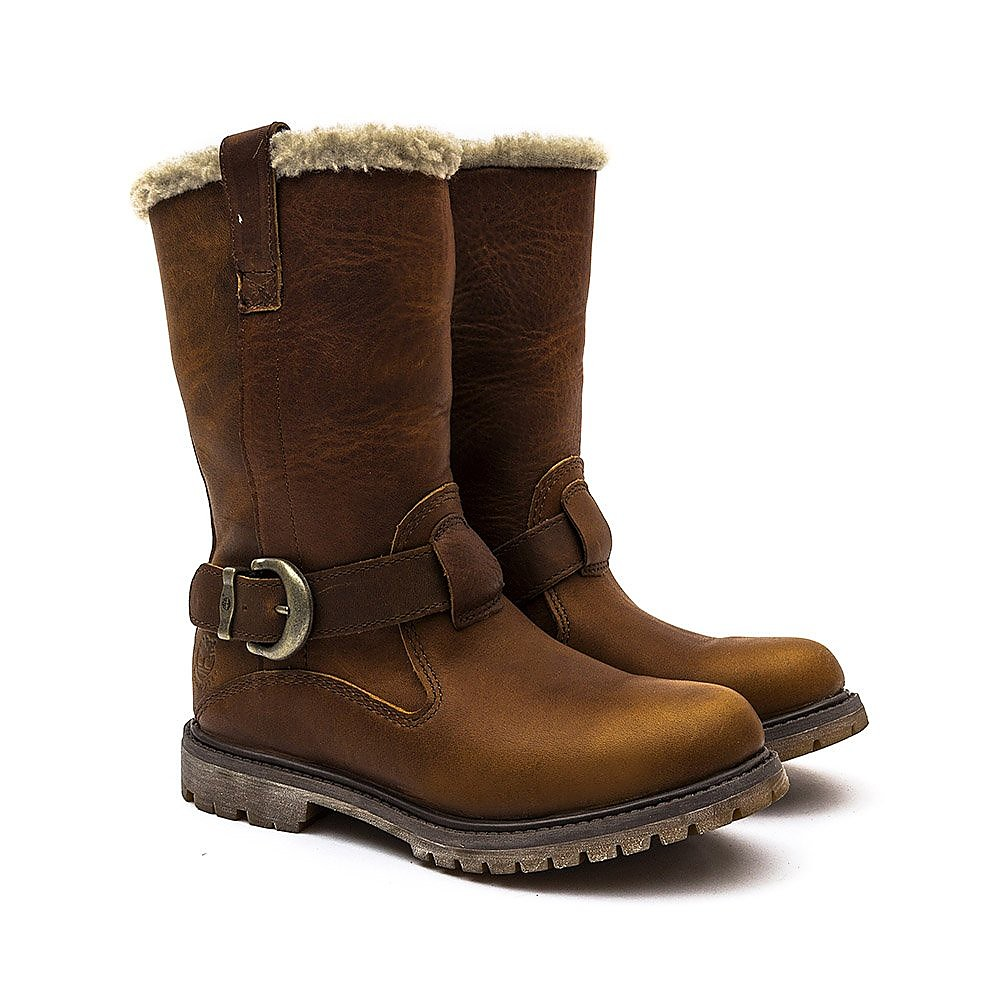 Timberland  Nellie Pull-On WP Boot - Tobacco