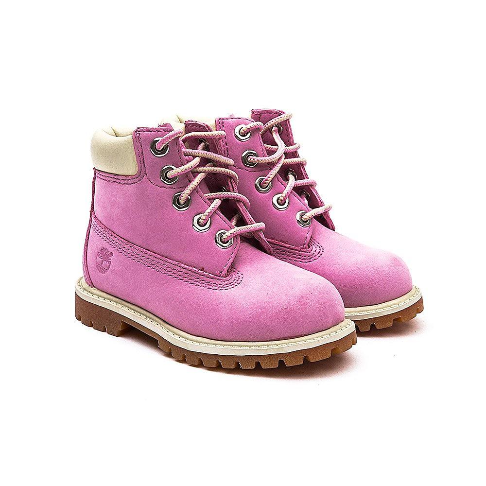 Timberland Infant 6 Inch Premium - Pink Nubuck