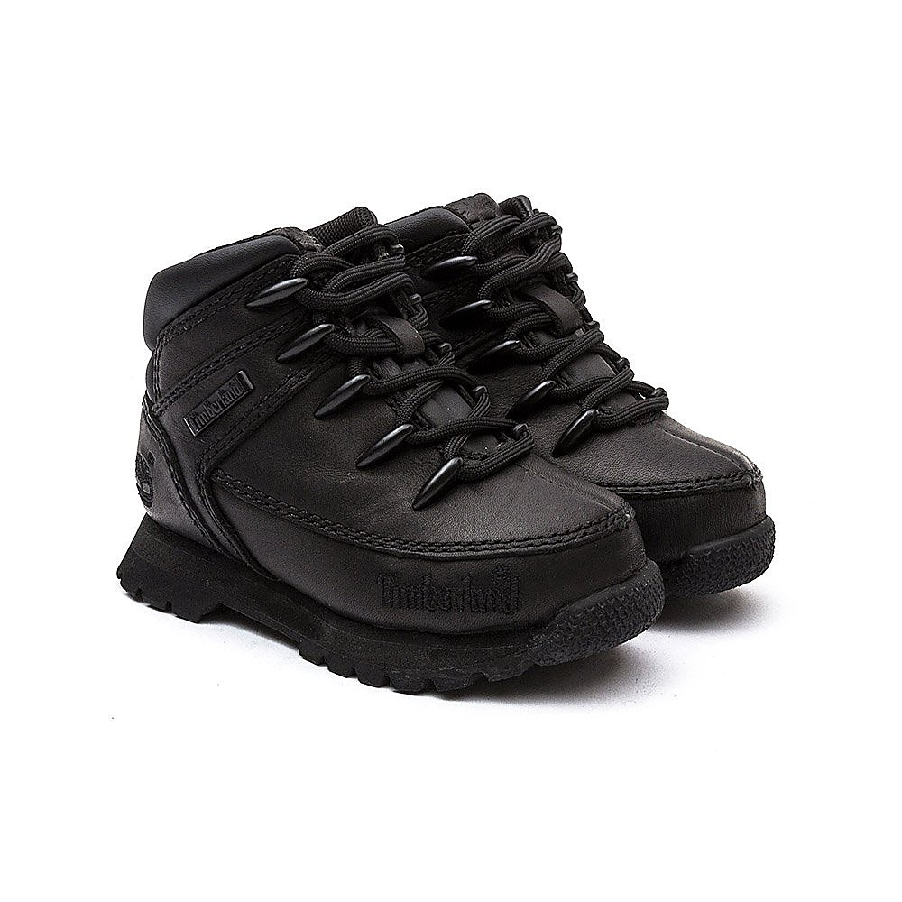 Timberland Infant Euro Sprint Hiker- Black leather