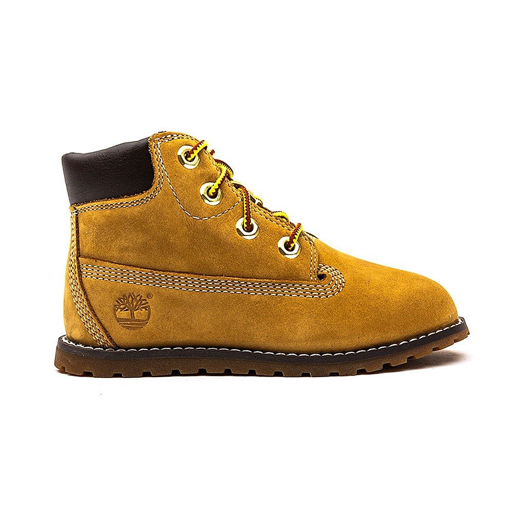 Timberland Infant Pokey Pine 6 Inch - Wheat Nubuck
