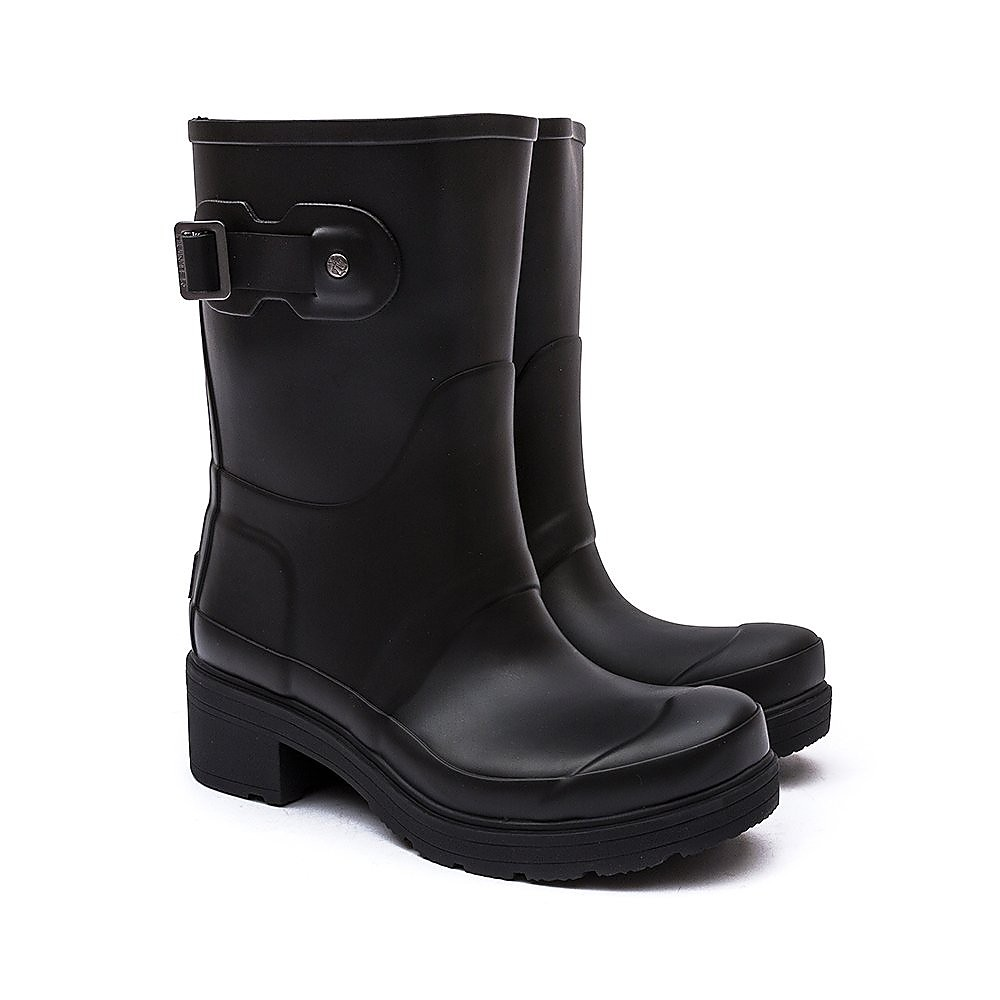 Hunter Wellies Womens Original Ankle Boot - Black