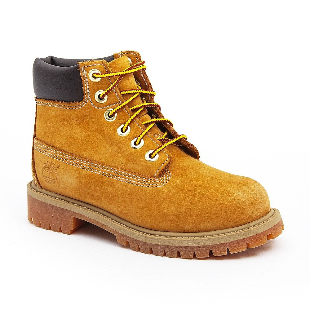 "Timberland Youths 6"" Premium Boots - Wheat"