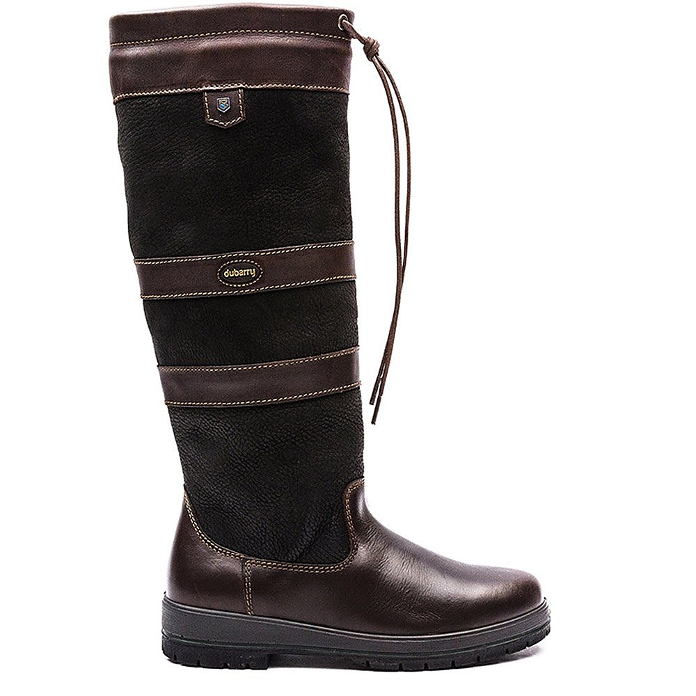 Dubarry Women's Galway Extra-Fit Leather Boots - Black & Brown