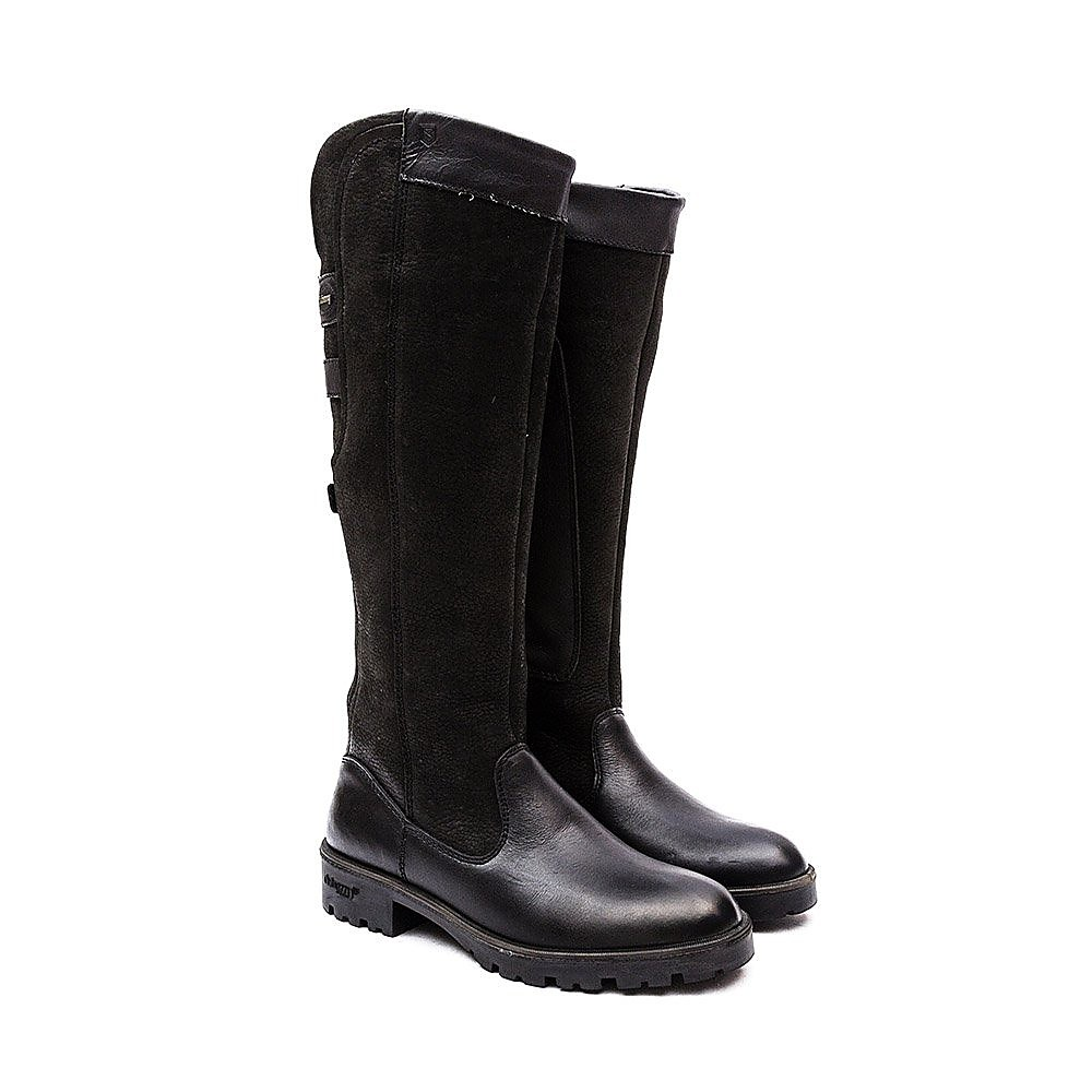 Dubarry Women's Clare Leather Tall Boots - Black