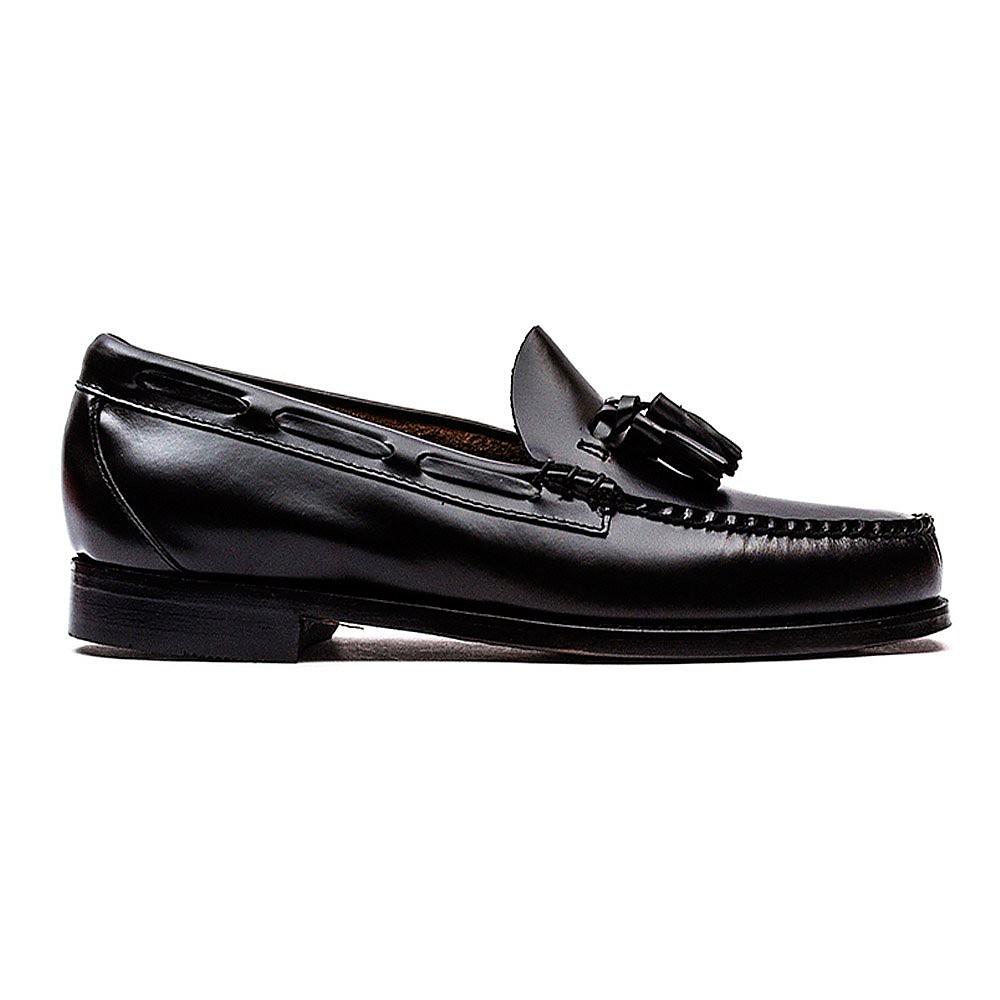 G.H. Bass Men's Weejuns Larkin Moc Tassle Loafers - Black