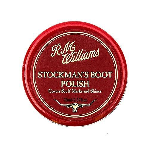 R.M. Williams Stockmans Polish - Dark