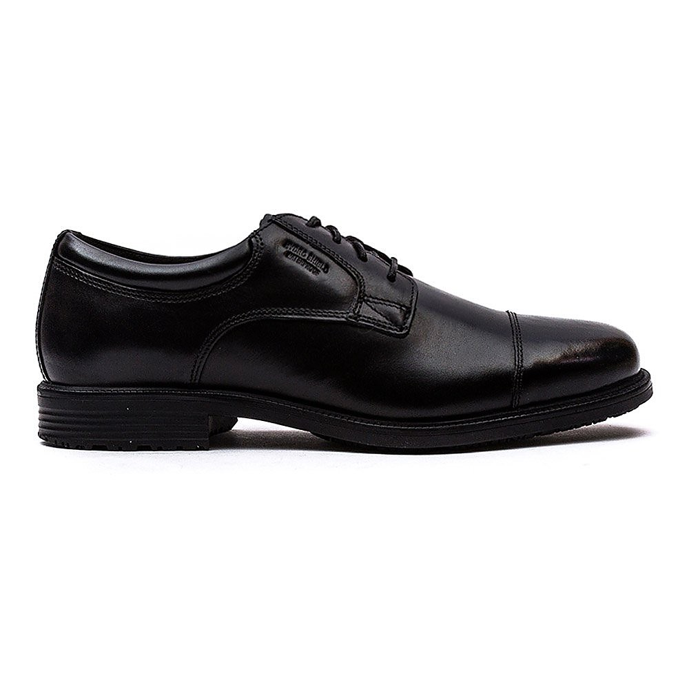 Rockport Men's Essential Details Captoe - Black