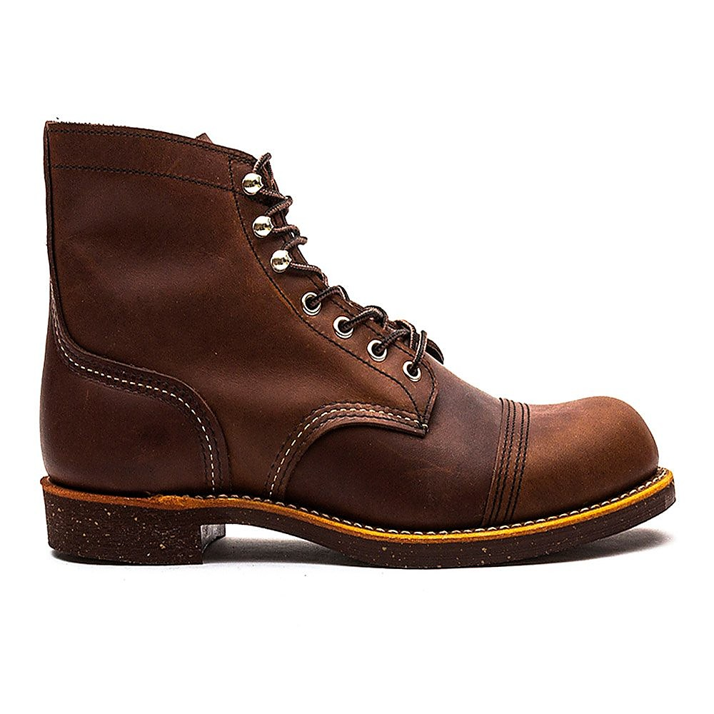 Red Wing 6'' Iron Ranger Mens Amber