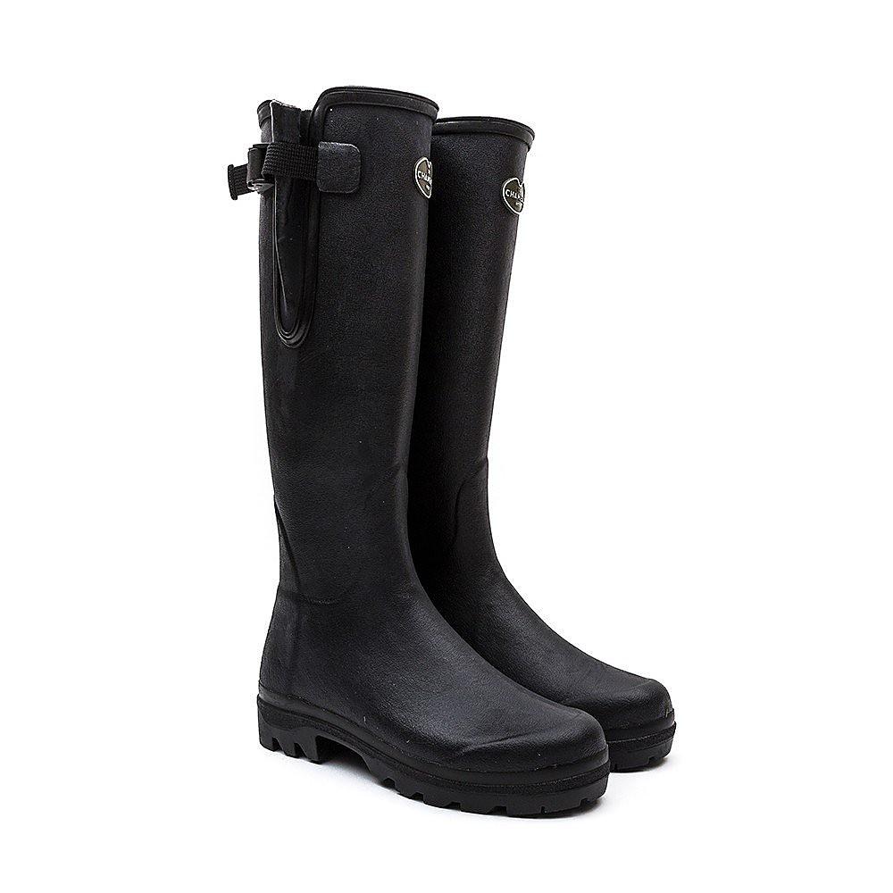 Le Chameau Women's Vierzon Boots - Black