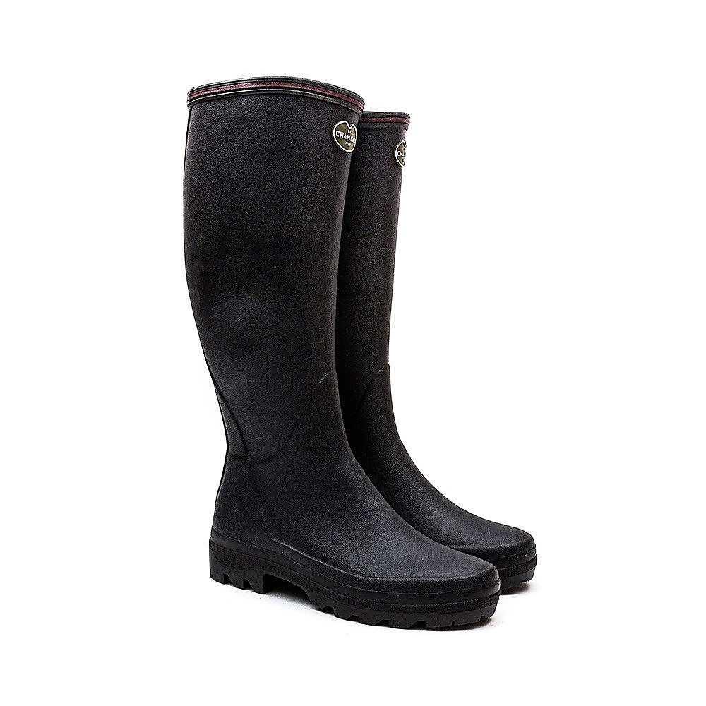 Le Chameau Women's Giverny Boots - Black