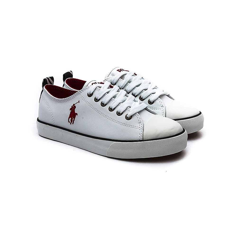 Ralph Lauren Kids Ralph Lauren Falmuth Low Paper White