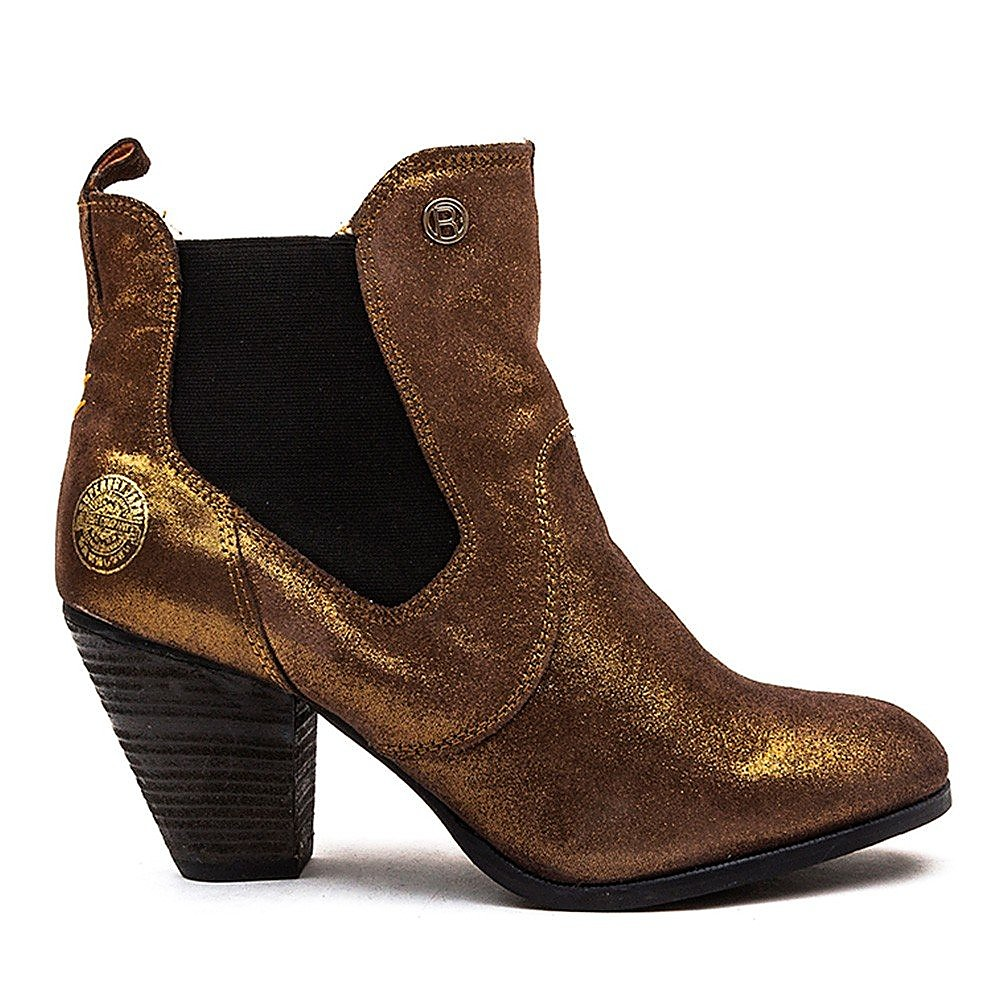 Superdry Luger Boot Womens Bronze