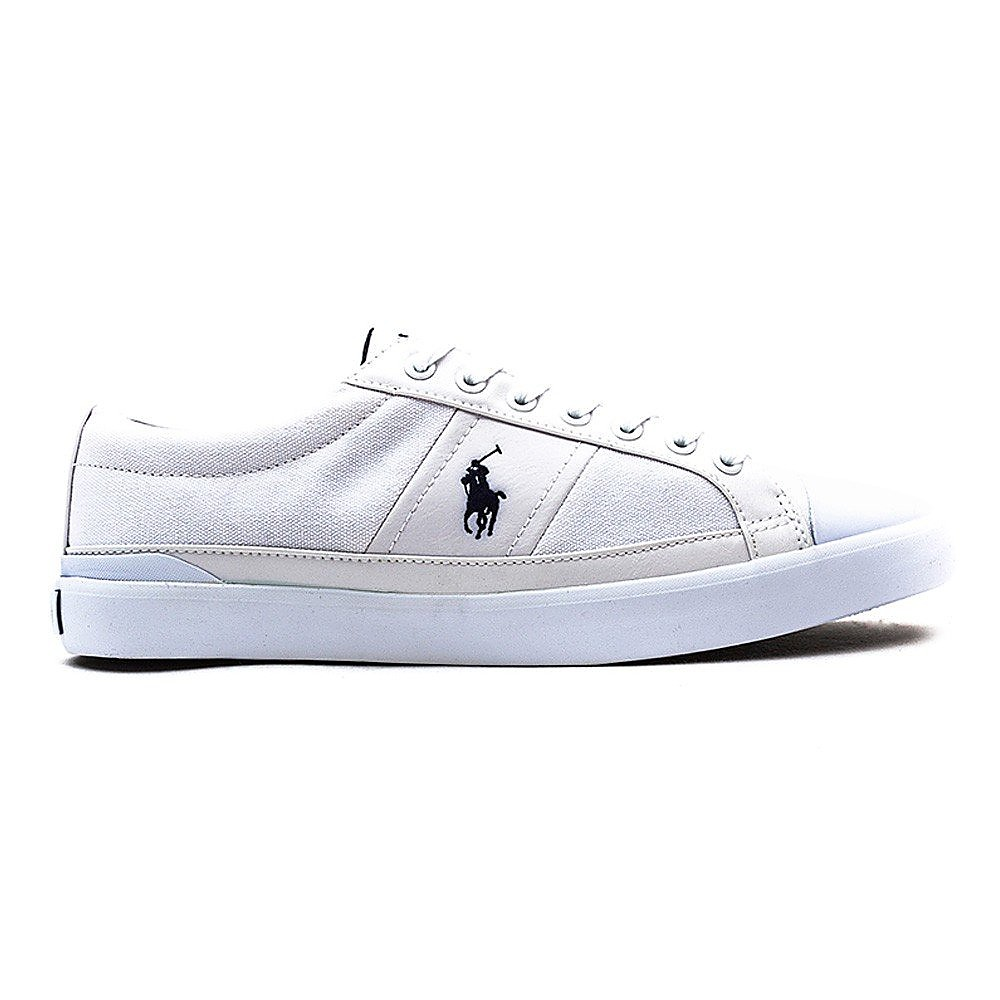 Polo Ralph Lauren Men's Polo Churston-Ne Trainers - Pure White