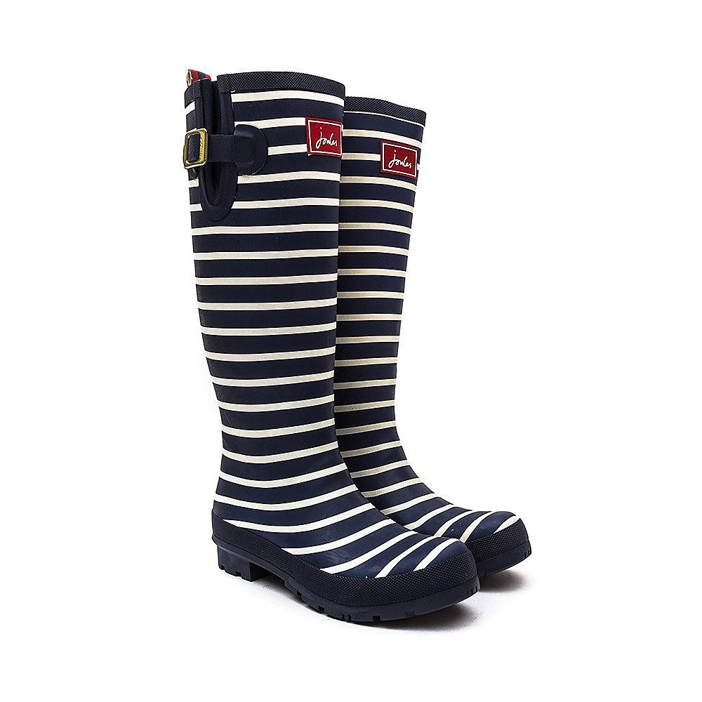 Joules Welly Print Womens French Navy