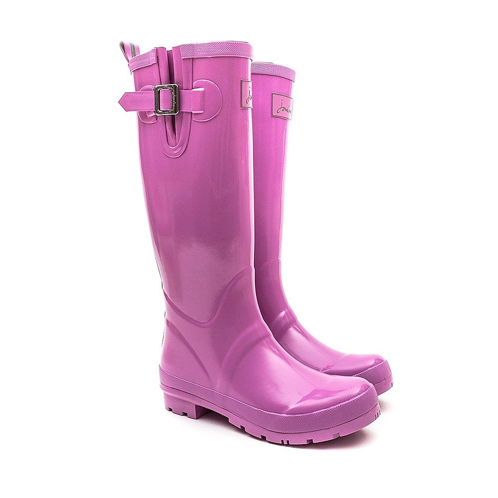 Joules Field Welly Gloss - Neon