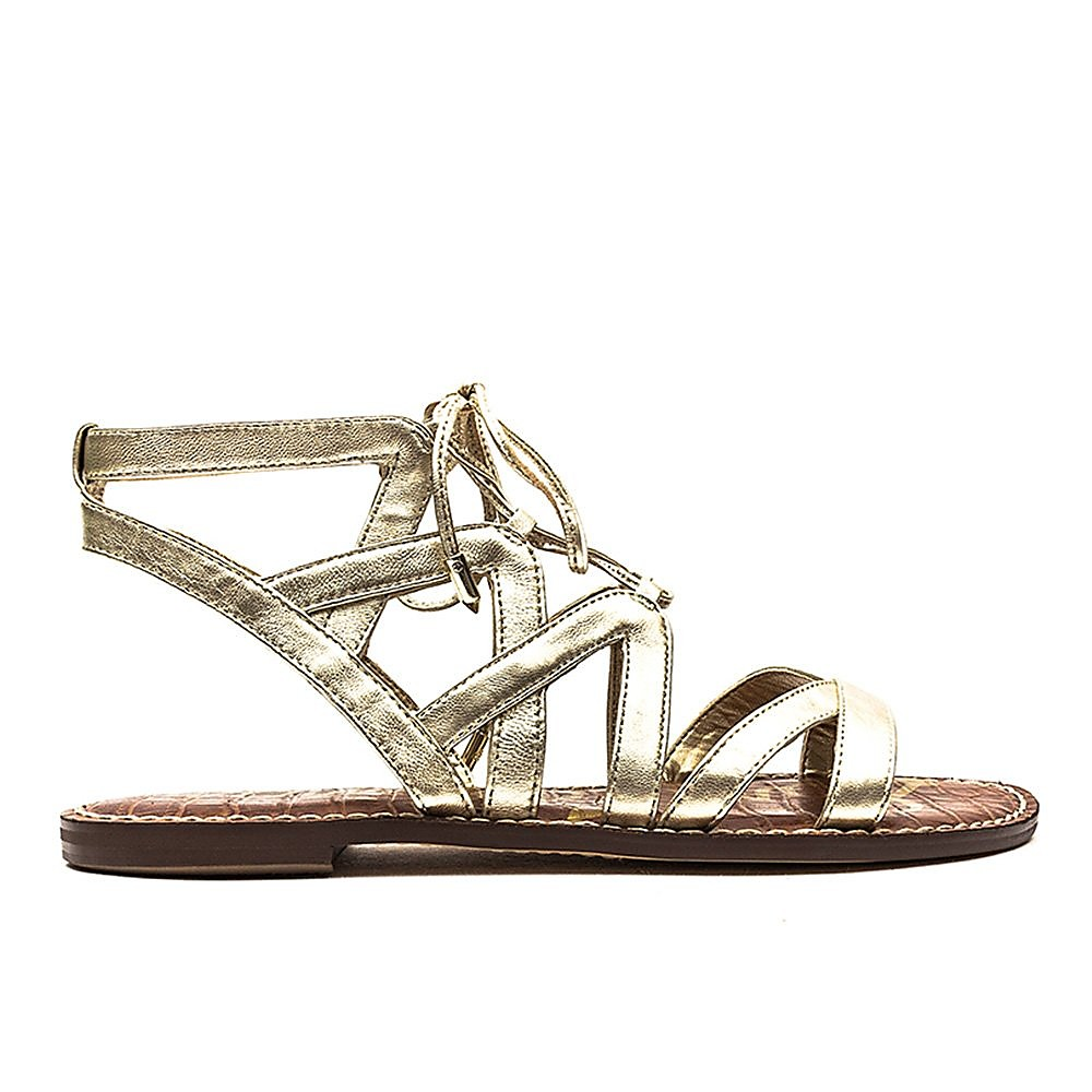 Sam Edelman Gemma Womens Jute Metallic
