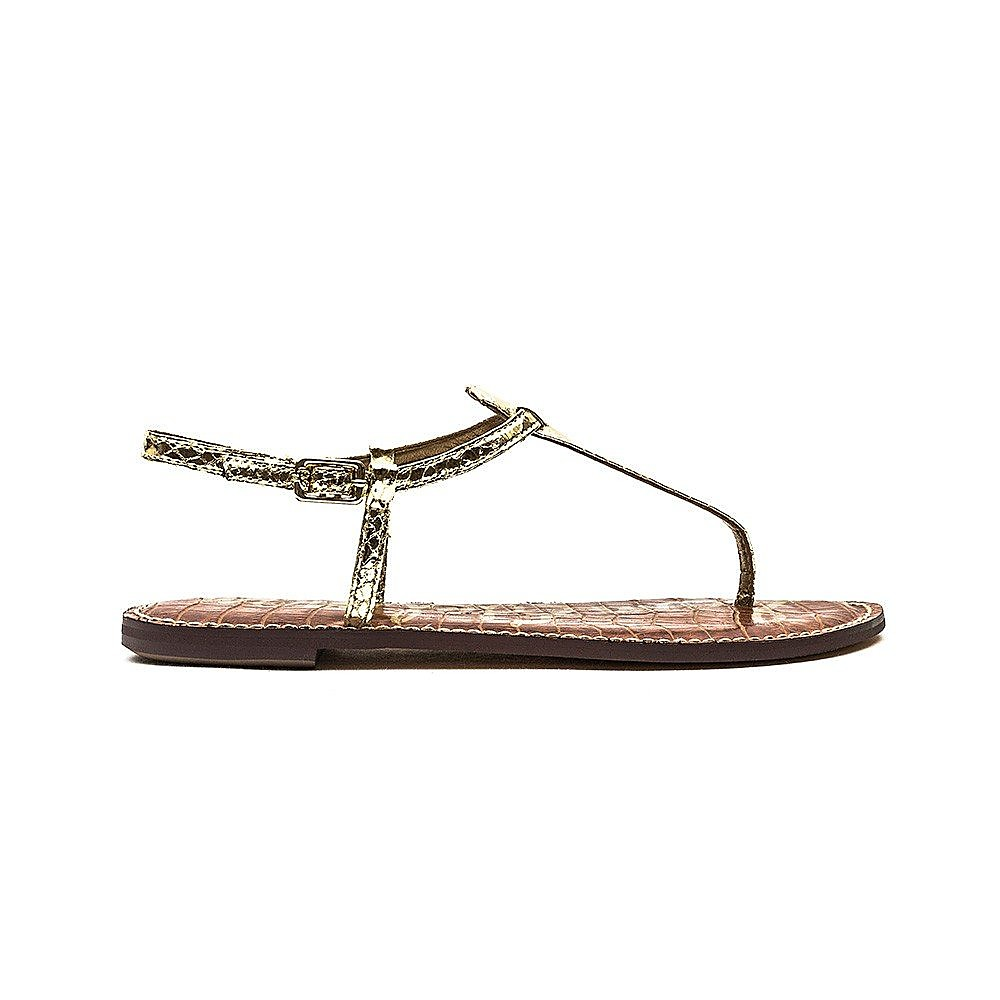 Sam Edelman Women's Gigi Boa Snake Sandals - Gold