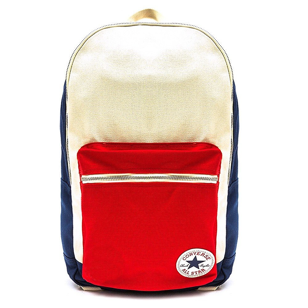 Converse Unisex Plus Backpack - Navy/Natural/Red