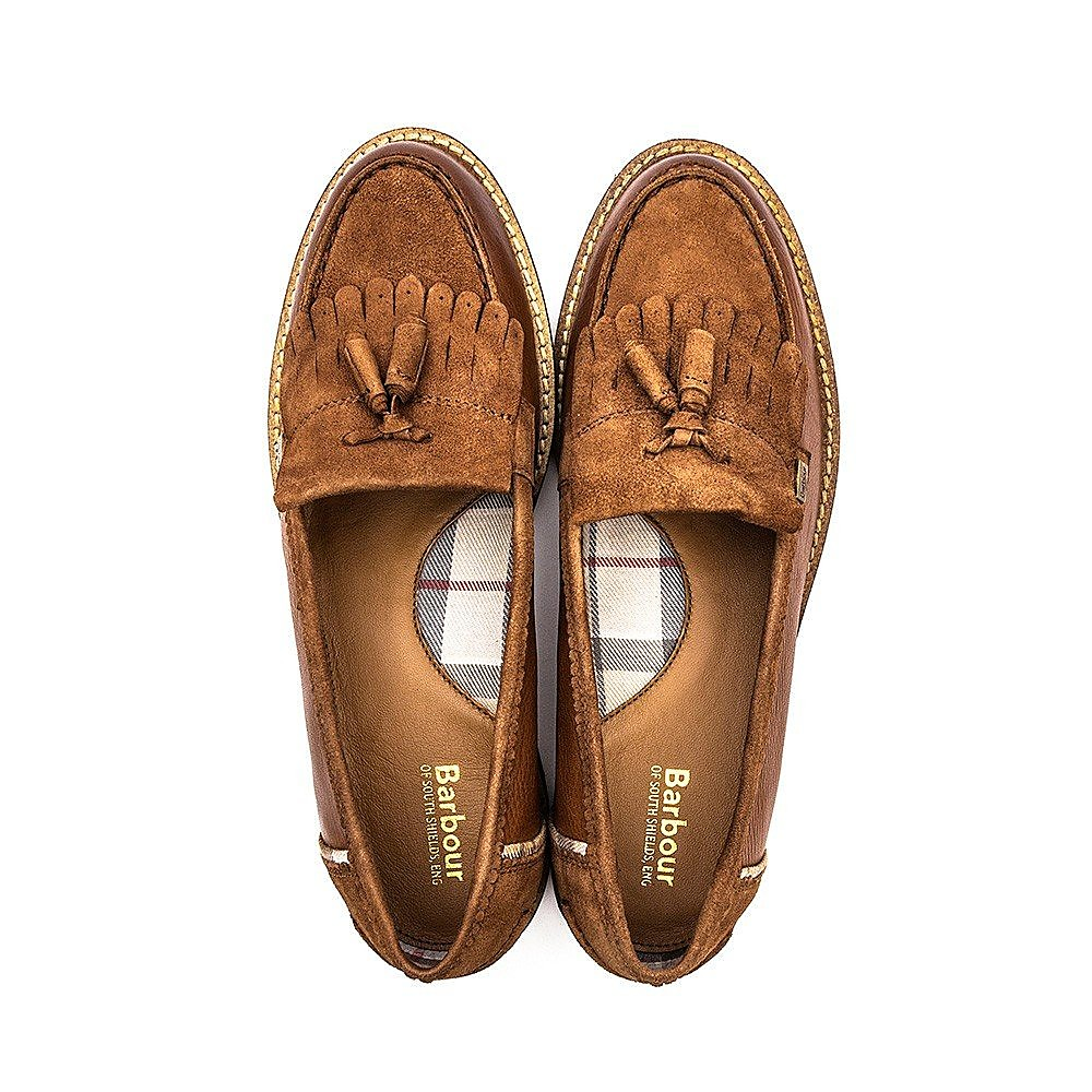 Barbour Naomi Loafer Womens Chestnut
