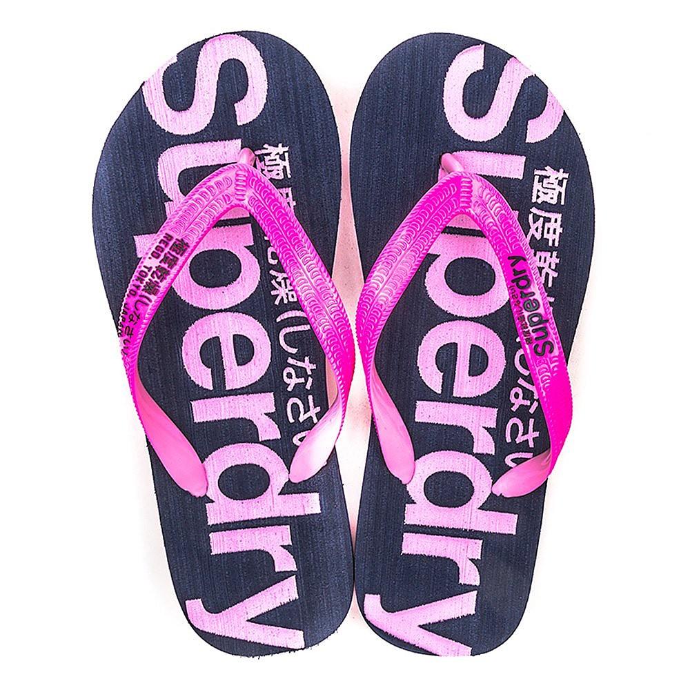 Superdry Flip Flop - - Fluro Pink/Imperial