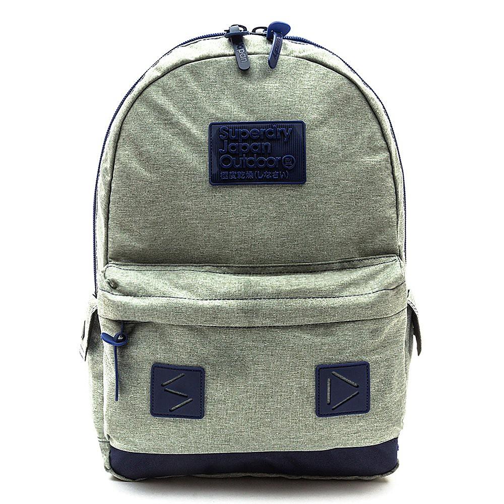 Superdry Silicone Montana Bag - Light Grey Marl