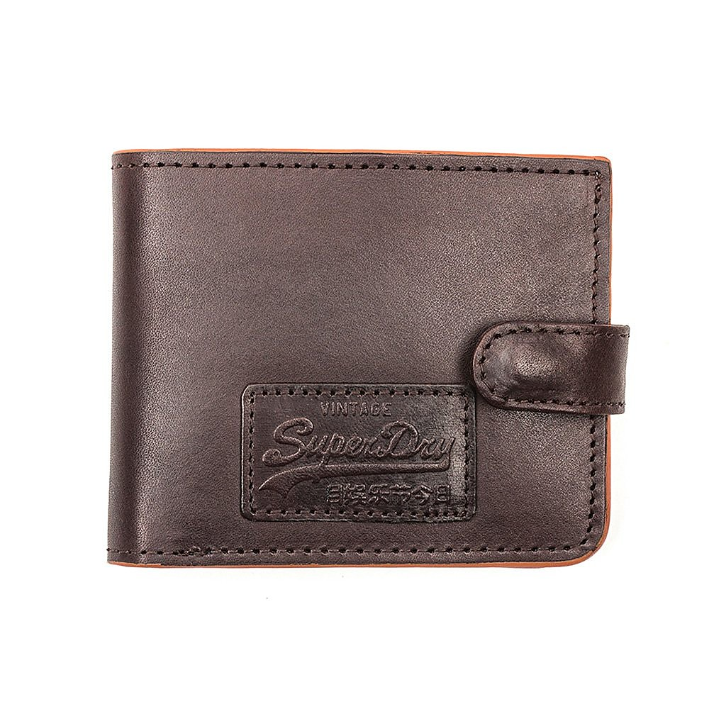 Superdry Tab Wallet In A Tin - Mens