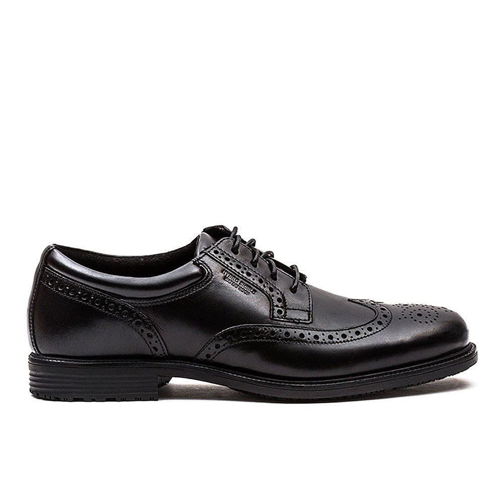 Rockport Men's Essential Details Wingtip Shoe - Black