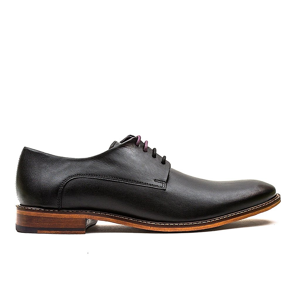Ted Baker Men's Irron Classic Leather Derby Shoes - Black