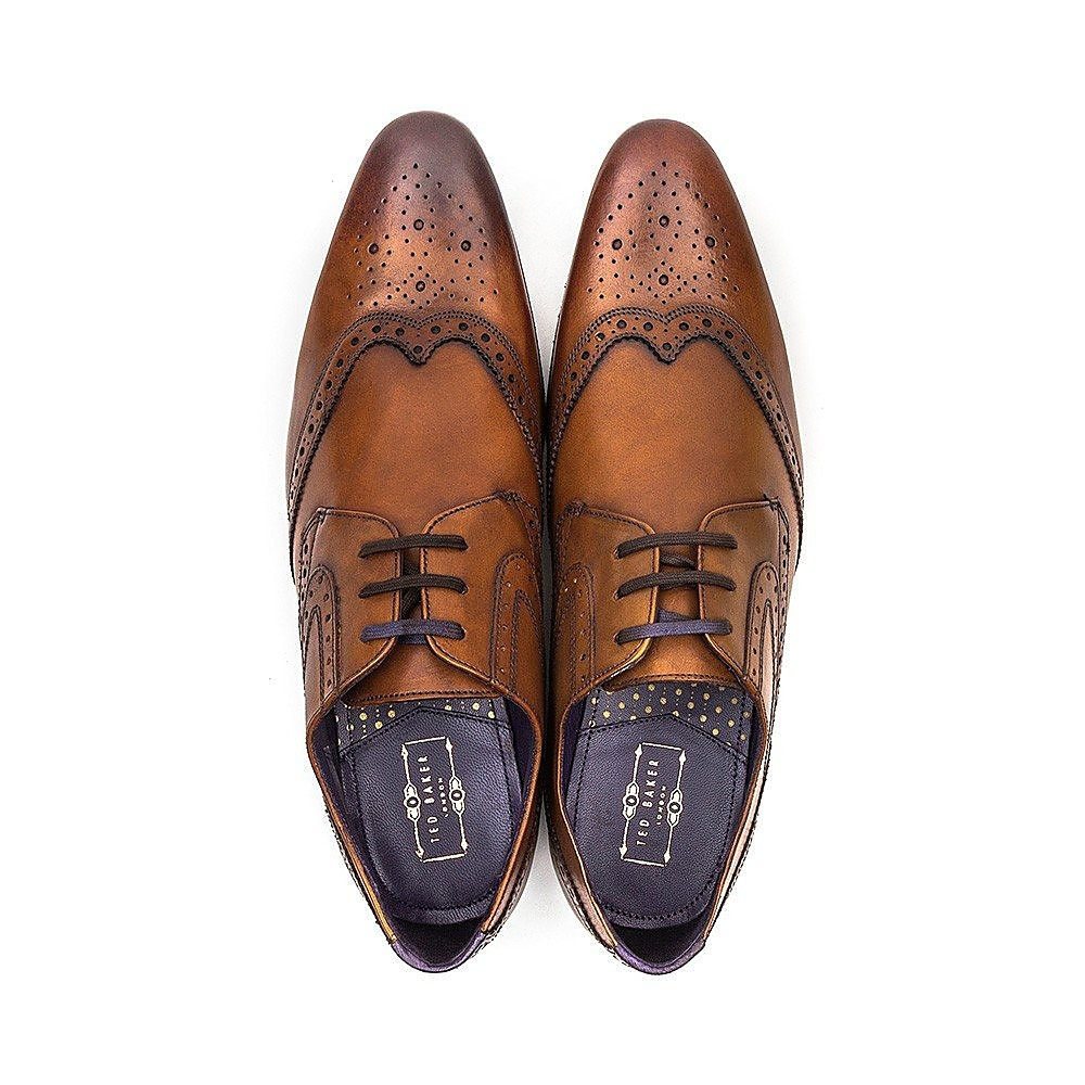 Ted Baker Hann 2 Leather Shoes - Tan