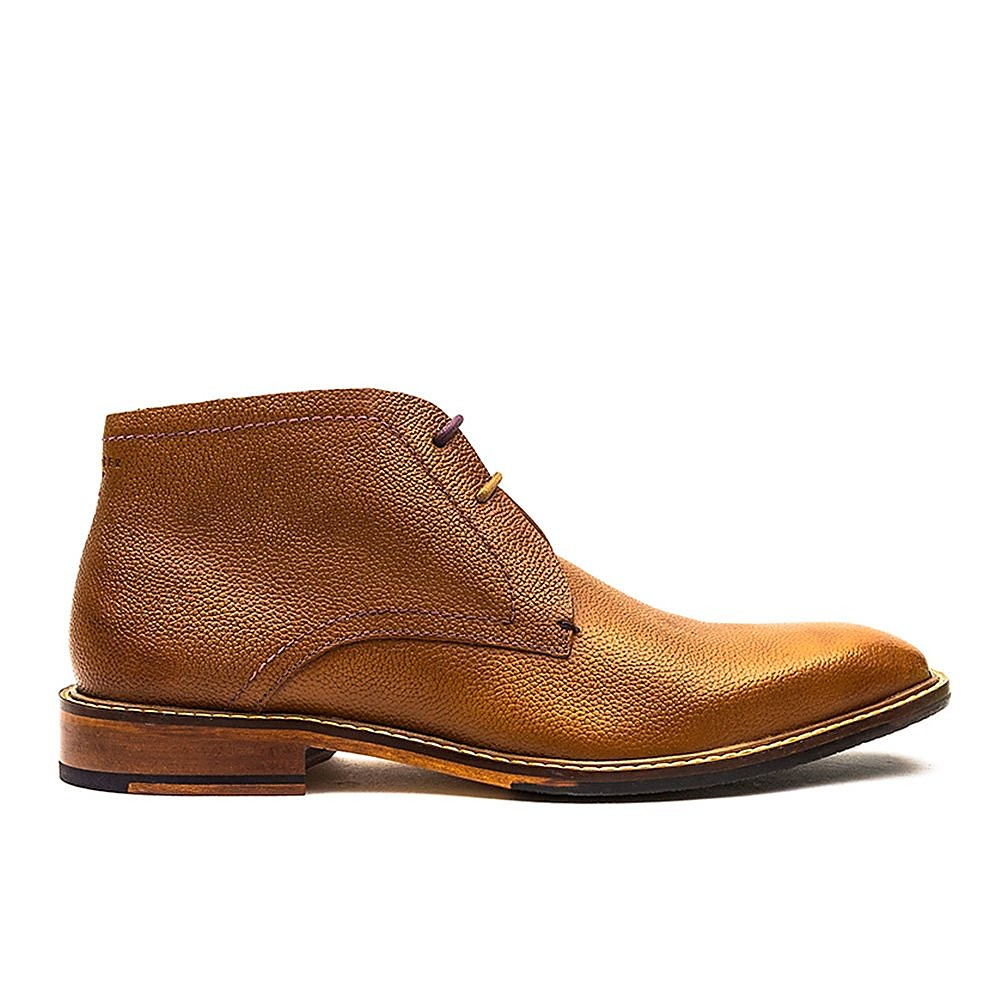 Ted Baker Men's Torsdi Leather Chukka Boots - Tan