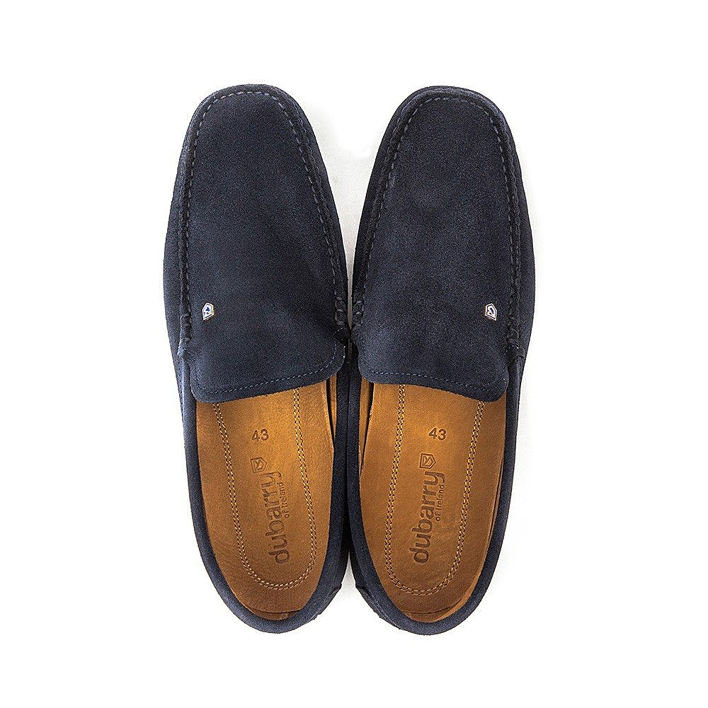 Dubarry Men's Azores Suede Loafers - French Navy