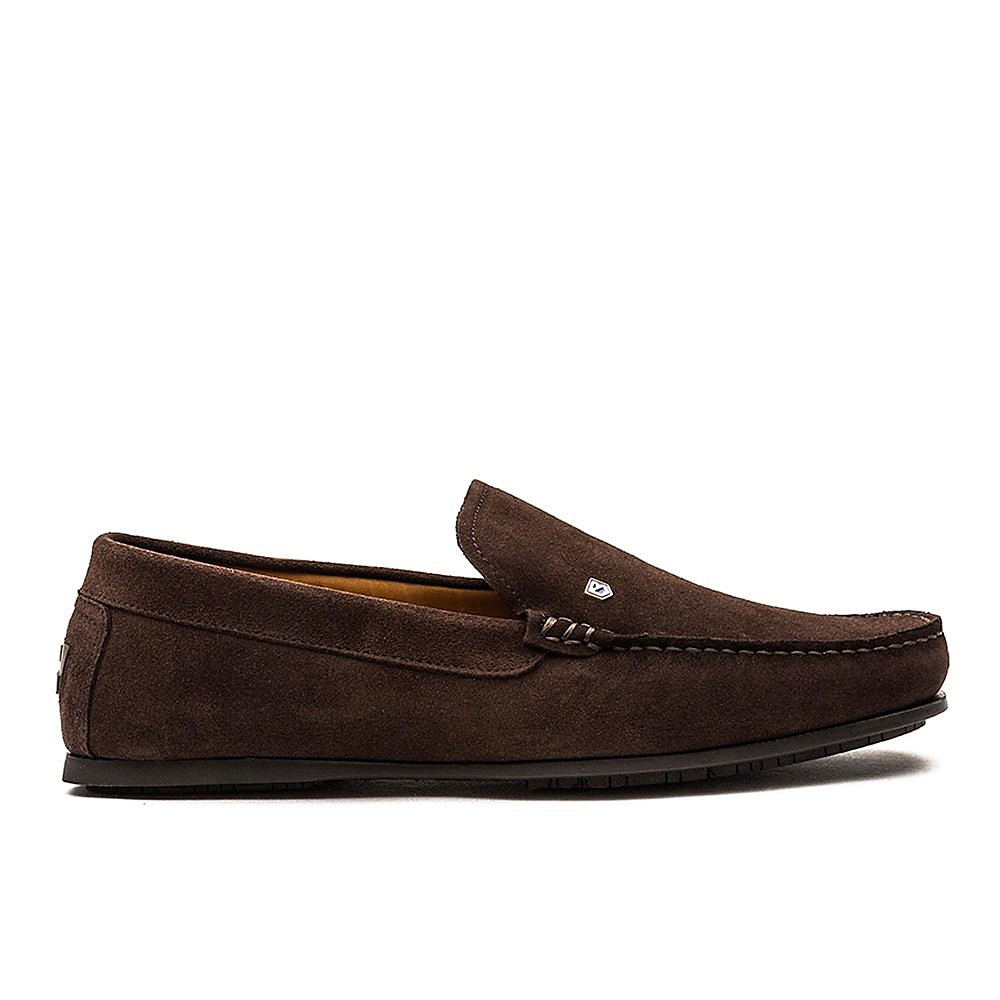 Dubarry Men's Azores Suede Loafers - Cigar