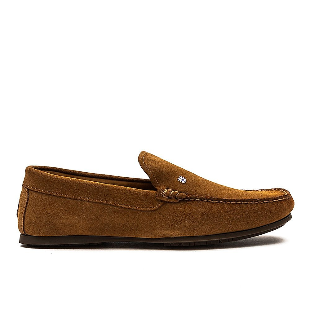 Dubarry Men's Azores Suede Loafers - Camel