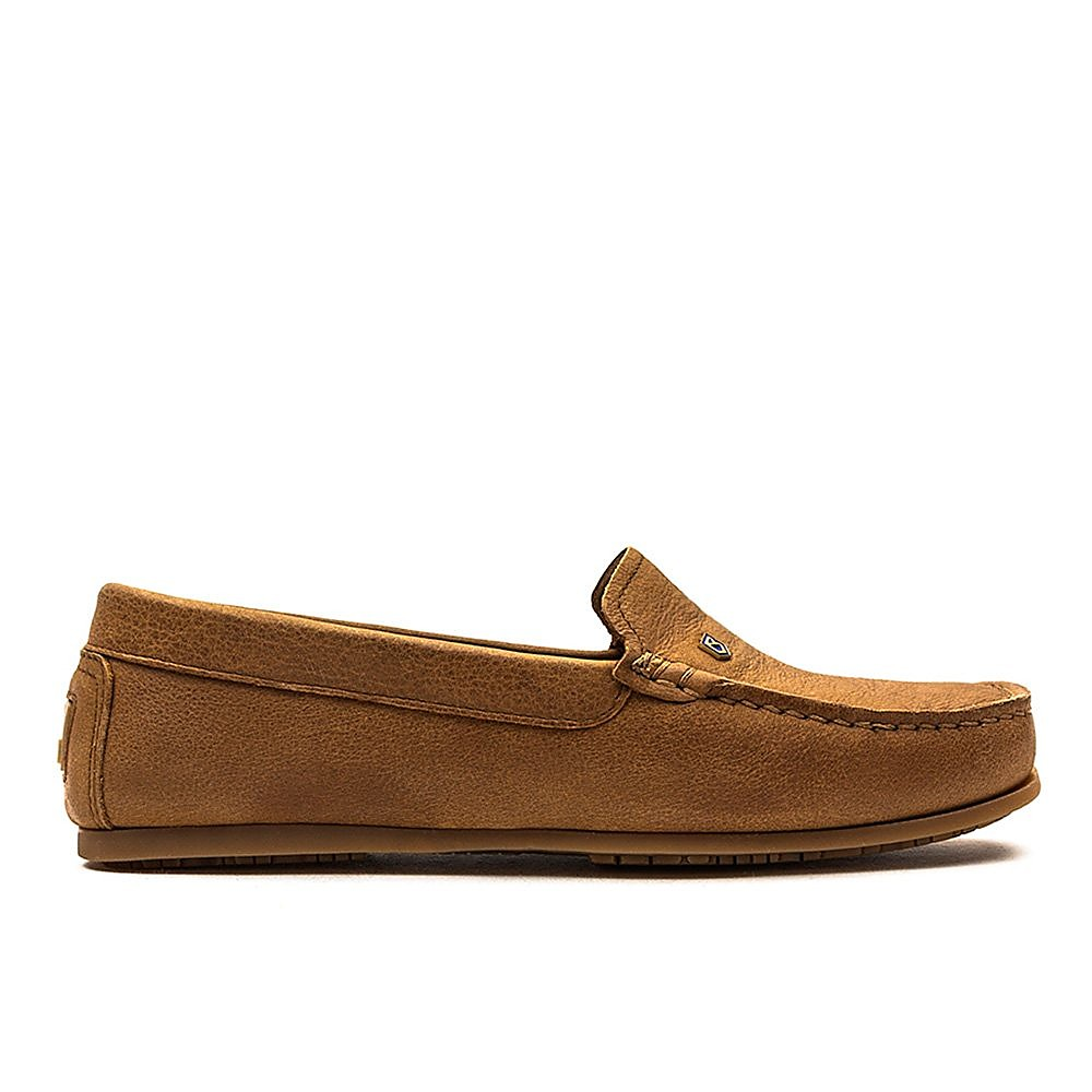 Dubarry Women's Santorini Leather Loafers - Tan
