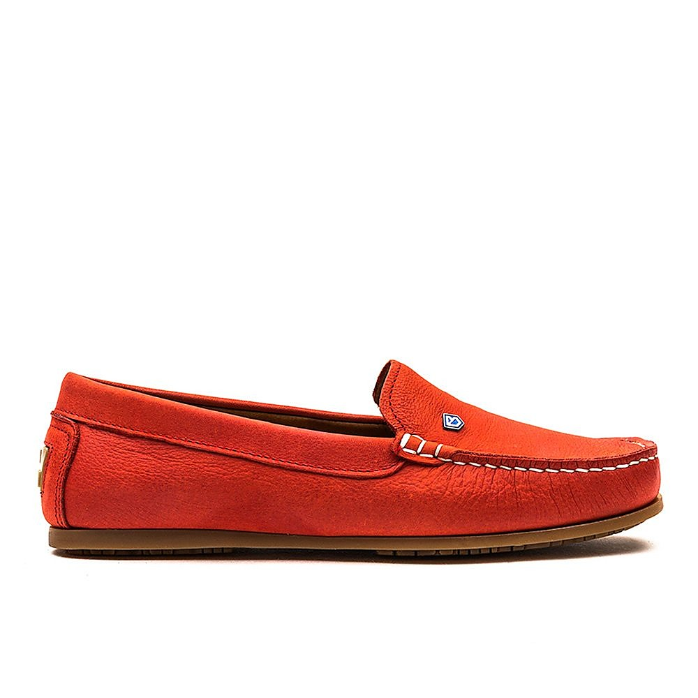Dubarry Women's Santorini Leather Loafers - Coral