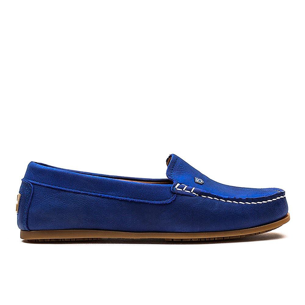 Dubarry Women's Santorini Leather Loafers - Cobalt